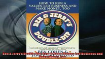 FAVORIT BOOK   Ben  Jerrys DoubleDip How to Run a ValuesLed Business and Make Money Too  FREE BOOOK ONLINE