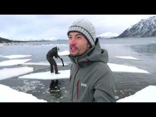 NORVÈGE : promenade sur un Iceberg !