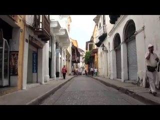 COLOMBIE :  CARTAGÈNE, la + BELLE ville coloniale