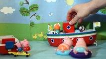 PEPPA PIG Splash Speedboat ♥ Le Bateau Hors Bord des Vacances ♥ Peppa Pig Vehículo de aven