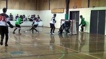 B-Town Ballers vs. Vancouver Falcons - Period 1 (10/17/14) Ball Hockey Dangles Dekes Drills Tricks