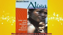 FAVORIT BOOK   Nisa The Life and Words of a Kung Woman  BOOK ONLINE