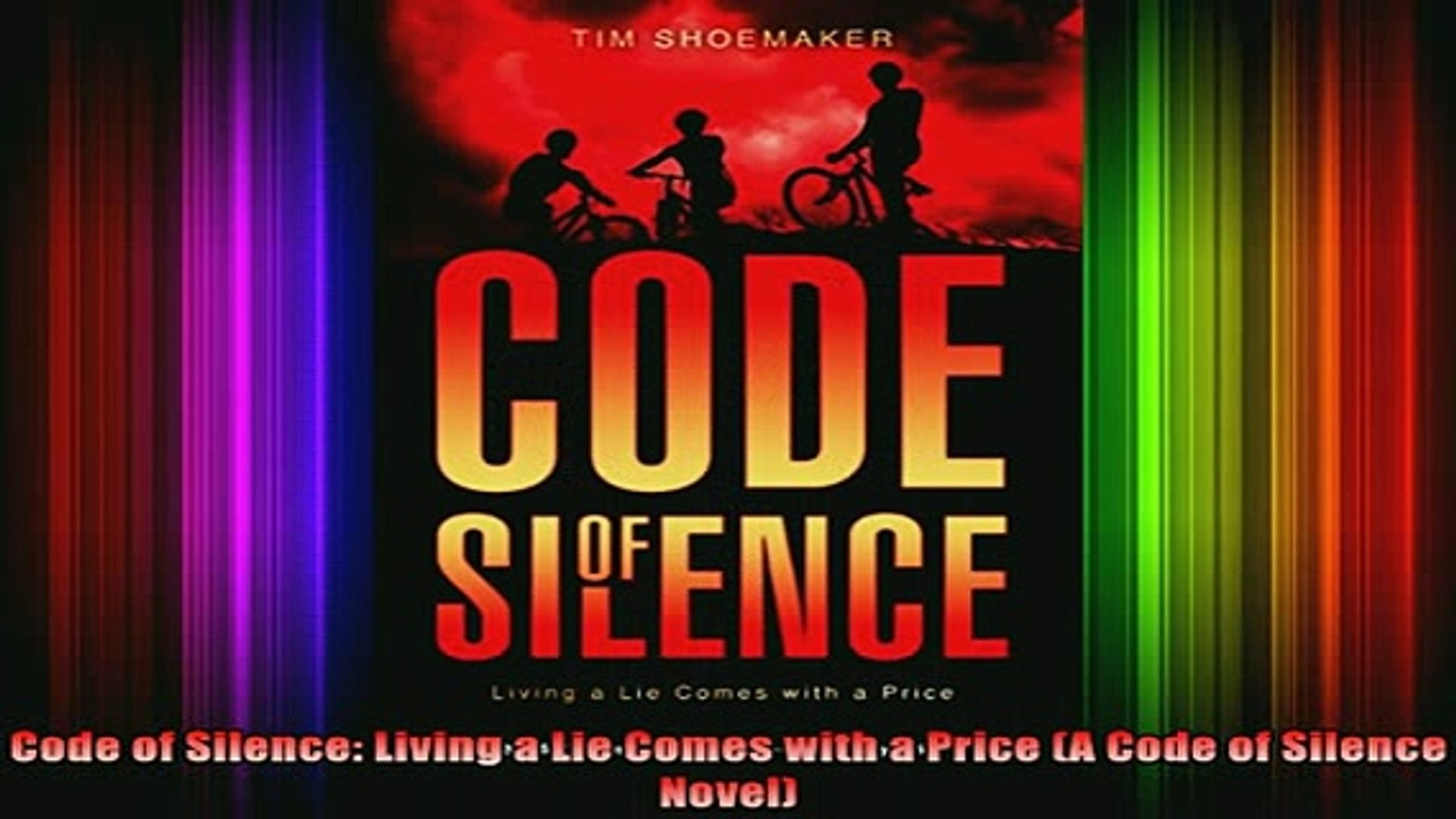 DOWNLOAD FREE Ebooks  Code of Silence Living a Lie Comes with a Price A Code of Silence Novel Full E