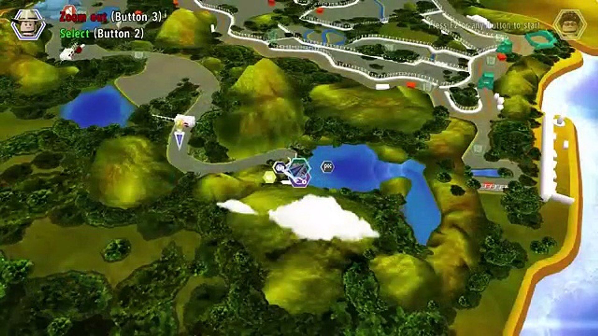 LEGO Jurassic World   Gameplay Walkthrough Part 2   Welcome to Jurassic Park! PC