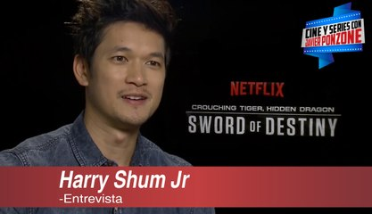 "A solas con Harry Shum Jr por ""Crouching Tiger, Hidden Dragon: Sword of Destiny"""