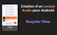 [Android] Tuto Player Audio - Recycler View