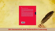 Download  3D Immersive and Interactive Learning Free Books