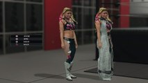 WWE 2K15 Superstar Studio  Every Available WWE Superstar & Diva Models in Superstar Studio