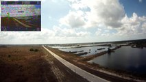 EasyStar 2-28-12: FPV GoPro Maiden Flight, Flown With Dragonlink!