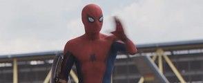 Spider-man New Fight Scene: Captain America 3 Civil War