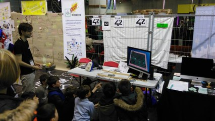 Bomberman 42 Born2code, Kamo Con Dijon, Maker Faire Paris 2016