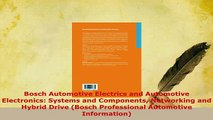 PDF  Bosch Automotive Electrics and Automotive Electronics Systems and Components Networking PDF Online