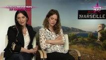 """Géraldine Pailhas et Stéphane Caillard à l'affiche de Marseille : """"Tourner avec Gérard Depardieu a été très sain"""" (exclu vidéo)"""