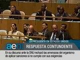 AEN 26-09-2012 11HS: Cristina le responde al FMI en la ONU - Encuentro Mundial del Olivo