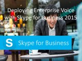 70-333 Deploying Enterprise Voice with Skype for Business 2015 - CertifyGuide Exam Video Training