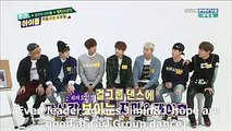 ENG SUB] 140430 BTS @ Weekly Idol Girl Groups Cut - video