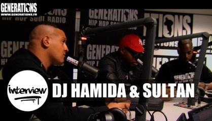 DJ Hamida & Sultan - Interview #MixParty2016 (Live des studios de Generations)