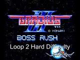 Gradius III Boss Rush Part 1