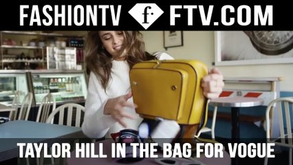 Taylor Hill In The Bag for British Vogue | FTV.com
