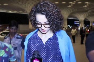 Kangana Ranaut Spotted At Mumbai Airport