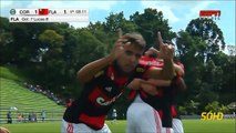 Coritiba 2 X 2 Flamengo - 1° Jogo Copa do Brasil Sub-17 2015