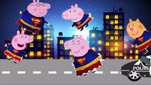 Peppa Pig Superman Finger Family - Pepa Pig superman finger family \ nursery rhymes and more lyric