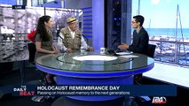 David Klein, a Holocaust survivor, talks about the importance of passing on Holocaust memory to the next generations