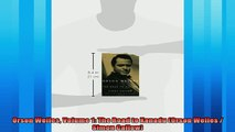 Free book  Orson Welles Volume 1 The Road to Xanadu Orson Welles  Simon Callow