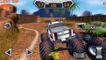 ✔ Monster Extreme Truck - Game for kids - Monster Trucks Cartoon & Game