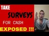 TAKE SURVEYS FOR CASH | Take surveys for cash review | My results right now!