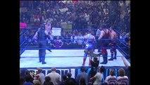 Kurt Angle, Chris Benoit & Kane vs. The Rock, Triple H & Undertaker (SmackDown 21.9.2000)