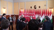 Müezzinoğlu, Peter Szijjarto ile Ortak Basın Toplantısı Düzenledi