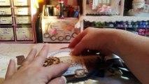 Coffee Talk Coffee Pot Chipboard Mini Album for SaCrafters