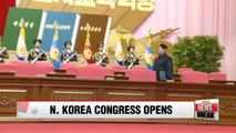 N. Korea opens 7th ruling Workers' Party congress