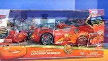 Disney Pixar Cars Lightning McQueen Rc Race Cars Crash Into Batman Batmobile