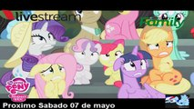 Spoler # 1 .My little Pony Fim. Temporada  6 Ep 124.   Newbie Dash