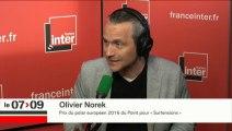 Olivier Norek répond aux questions de Marc Fauvelle.