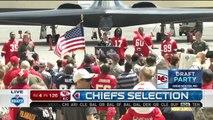 2016 NFL Draft Rd 4 Pk 126 Kansas City Chiefs Select WR Demarcus Robinson