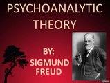 Sigmund Freud Theories Sigmund Freud Quotes PSYCHOTHERAPY 2016-
