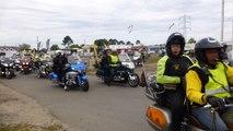Rassemblement de motos Goldwing à La Teste-de-Buch