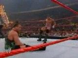 . Un match comme je les aime, les catcheurs se donne a fond et en plus Randy gagne !  .