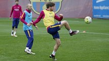 FC Barcelona training session: Second-to-last workout before Sunday derby