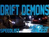 Need For Speed Speed List Update Drift Demons