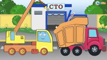 Car Cartoons. Truck. Excavator. Car Wash & Car Service. Heavy vehicles for kids. Emergency Cars TV