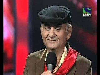 X Factor India - 63 year old Kartar Singh's youthful performance - X Factor India - Episode 10 - 17 June 2011