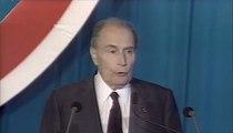 Inauguration du tunnel sous la Manche en présence de François Mitterrand et de la reine d'Angleterre