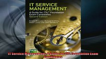 FREE PDF  IT Service Management A Guide for ITIL Foundation Exam Candidates  BOOK ONLINE