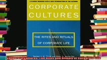new book  Corporate Cultures The Rites and Rituals of Corporate Life