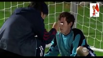 funny football moments   football Player saves all penalties with his face
