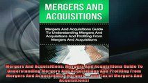 READ book  Mergers And Acquisitions Mergers And Acquisitions Guide To Understanding Mergers And Free Online